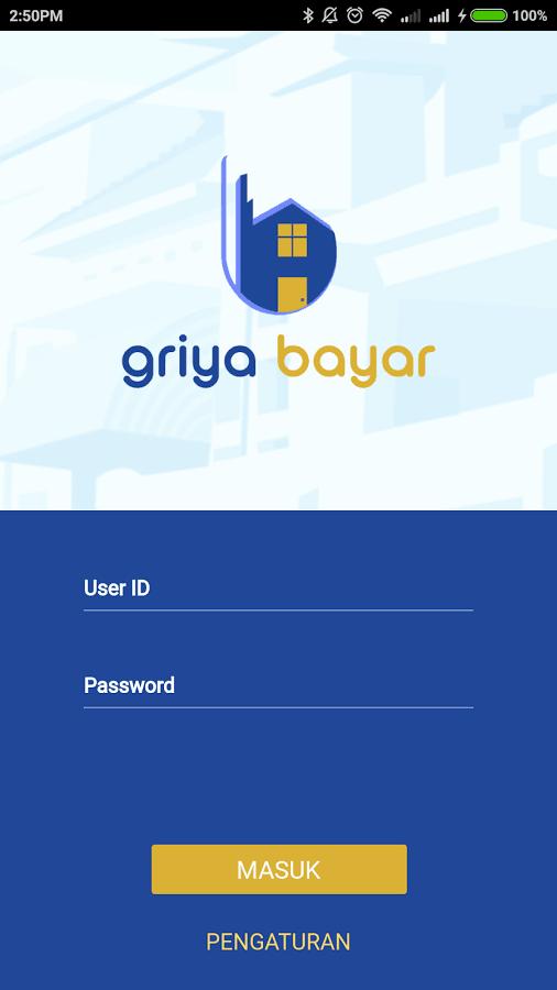 griya bayar mobile aplikasi